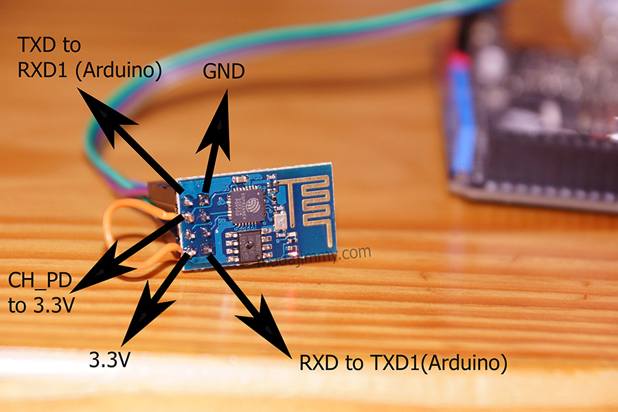 ESP8266 to Arduino Mega connection